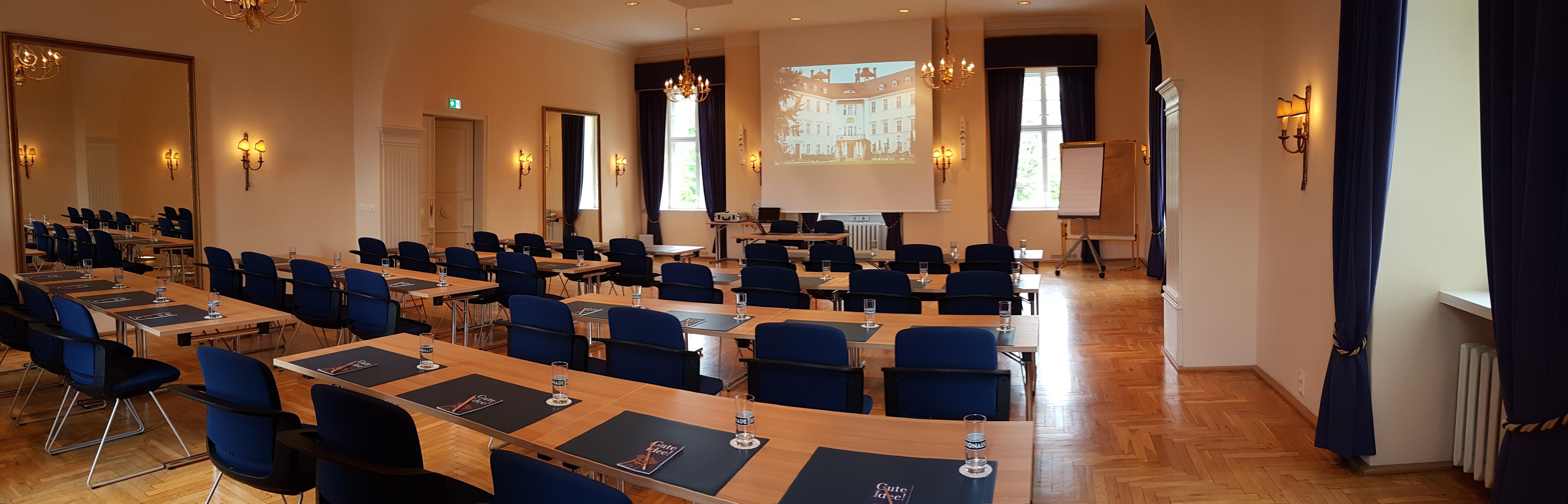 Tagungshotel Spreewald - Tagungshotel Brandenburg - Beletage - Raum Lübbenau - Schloss Lübbenau im Spreewald