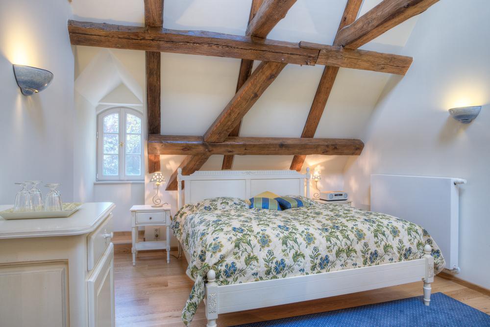 Urlaub Spreewald - Marstall - Die Urlaubsresidenz im Spreewald - Zimmer - Dachzimmer - Schloss Lübbenau im Spreewald