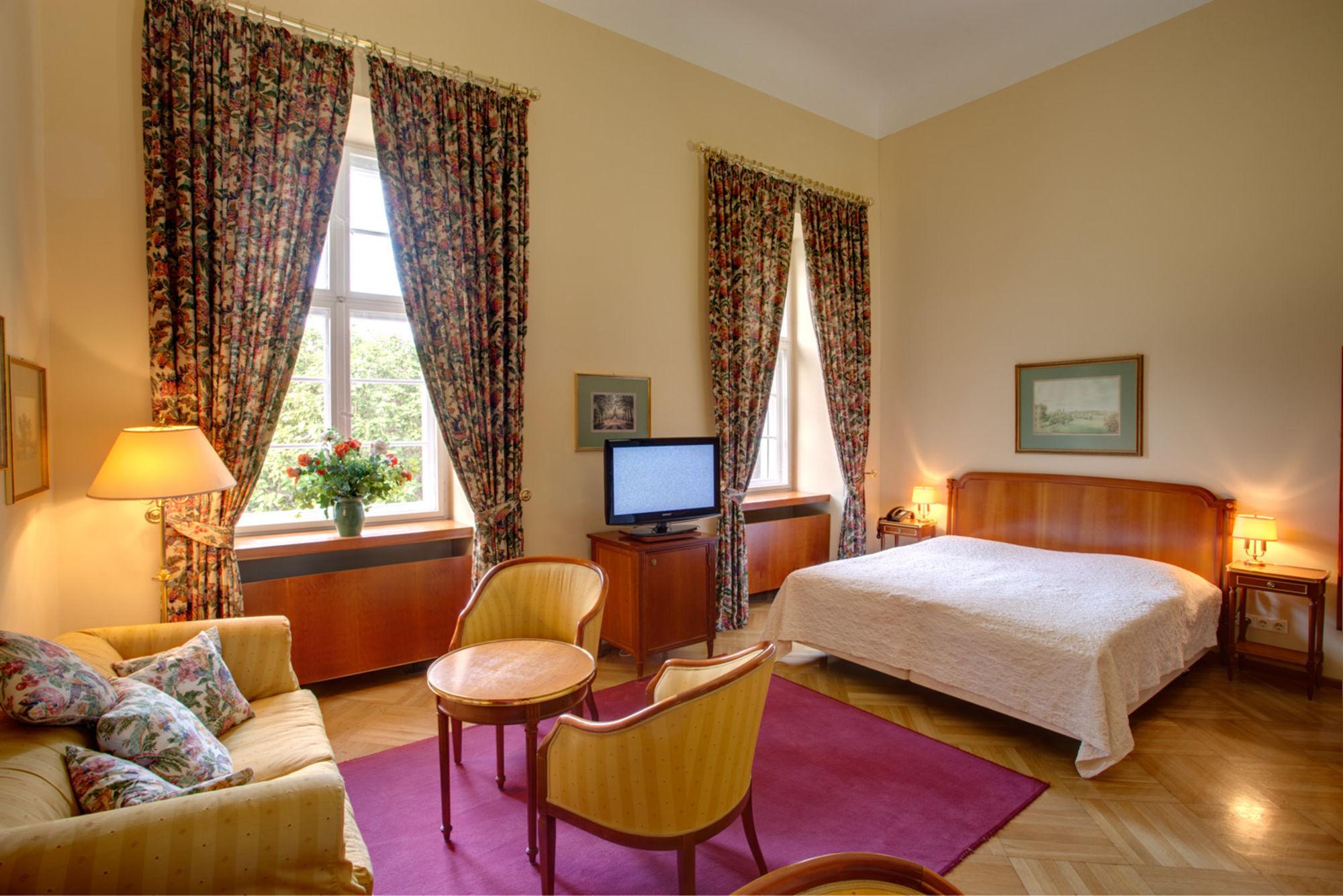 Urlaub Spreewald - Schloss-Hotel - Zimmer - Doppelzimmer - Schloss Lübbenau im Spreewald