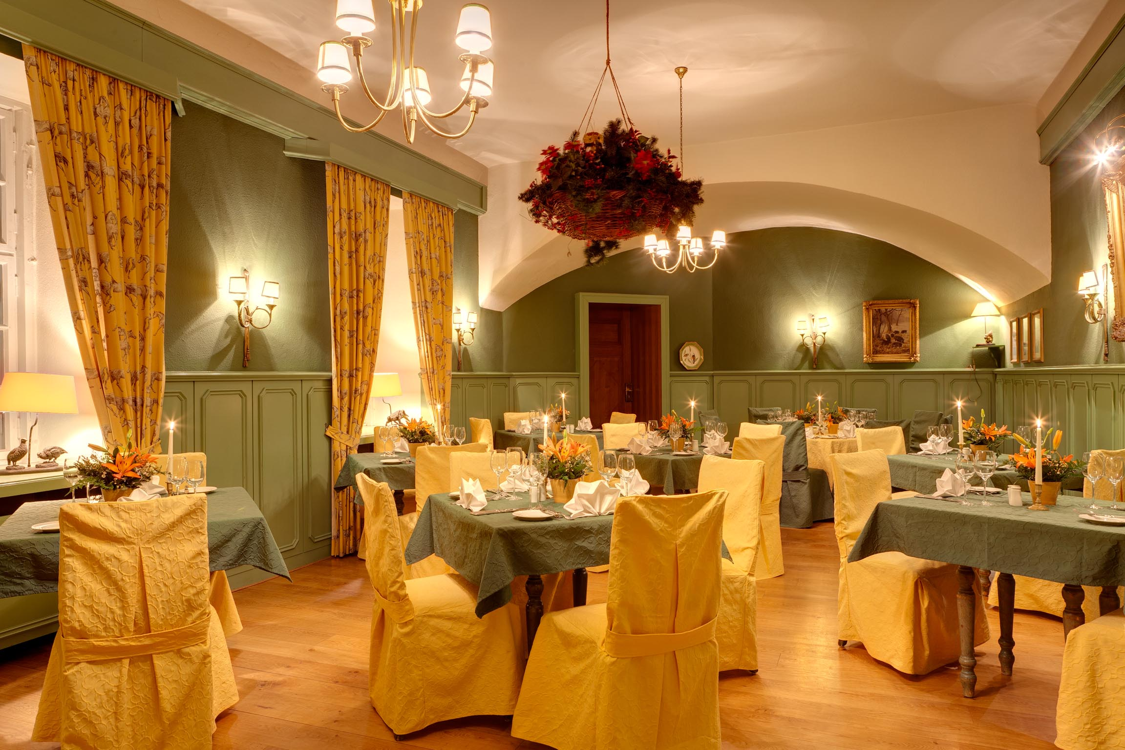 Restaurant Spreewald - Schlossrestaurant - Heiraten im Spreewald - Schloss Lübbenau im Spreewald